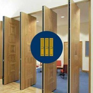 Operable Acoustic Partition Walls
